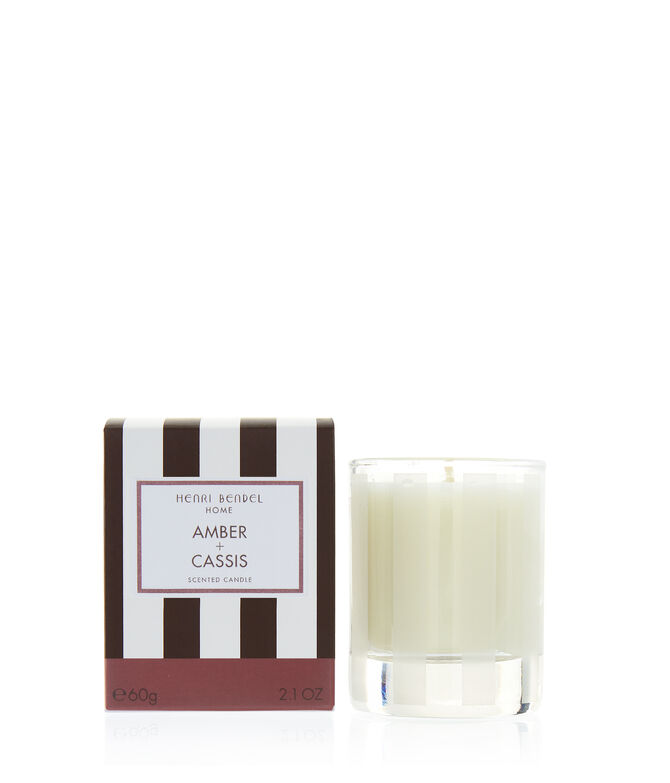 Amber & Cassis 2.1oz Travel Candle