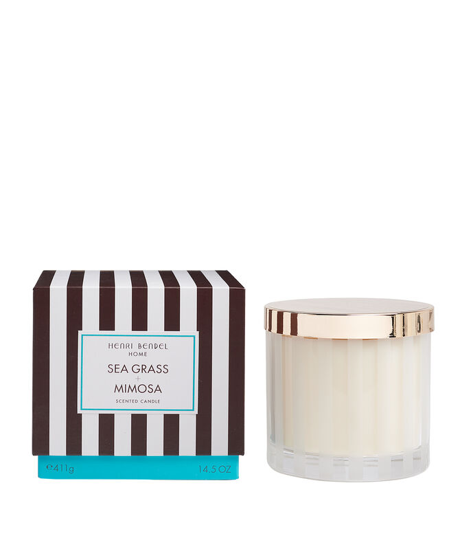 Seagrass & Mimosa Scented Candle