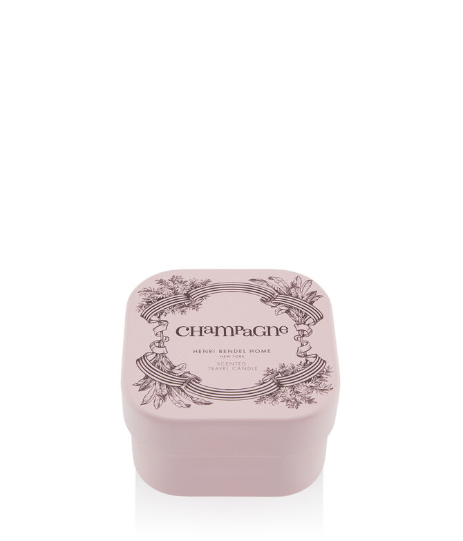 Champagne Travel Candle