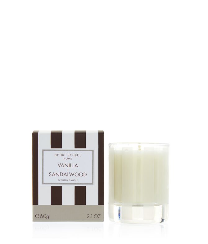 Vanilla & Sandalwood 2.1 oz Travel Candle