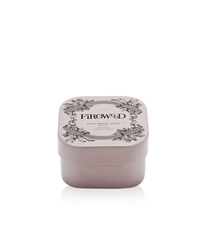 Firewood Travel Candle