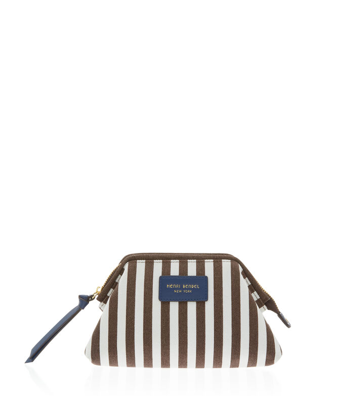 Signature Stripe Canvas Small Dopp Kit