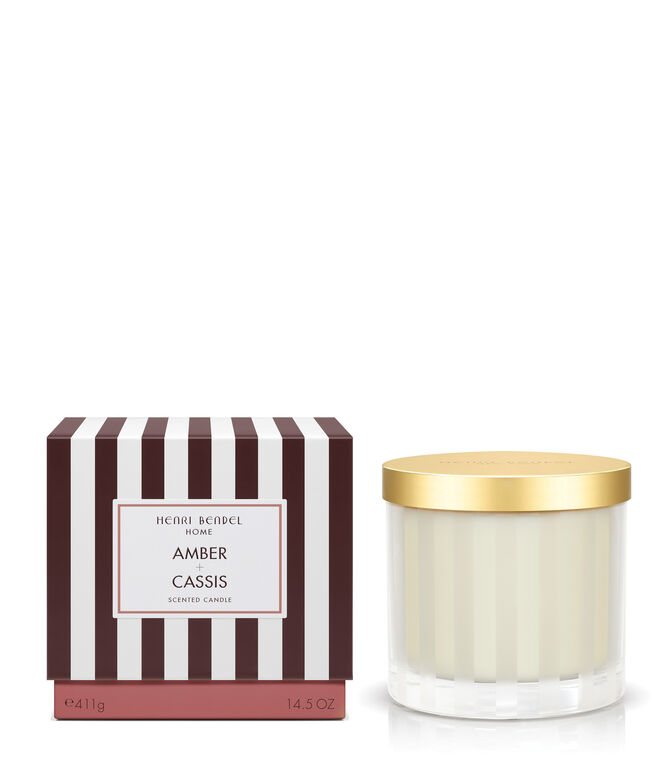Amber & Cassis Scented Candle