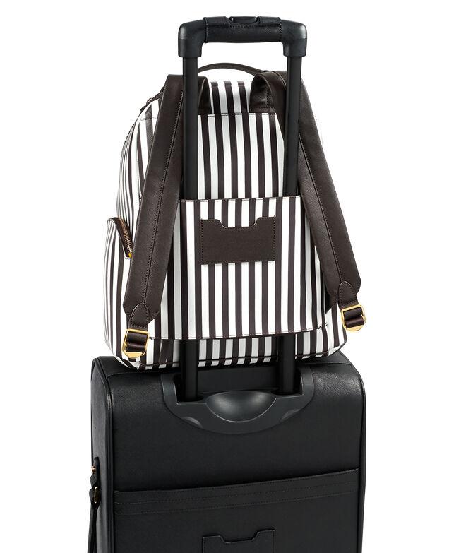 West 57th Centennial Stripe Travel Backpack