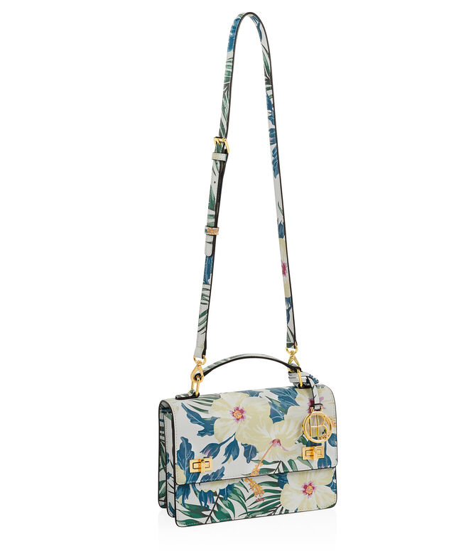 West 57th Floral Print Schoolbag