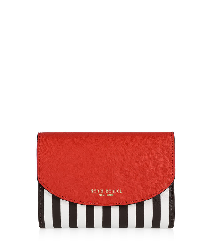 Centennial Stripe Medium Wallet